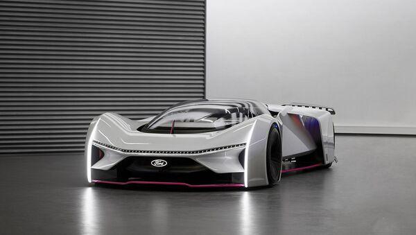 Ford построил в реальности виртуальный суперкар - Sputnik Азербайджан
