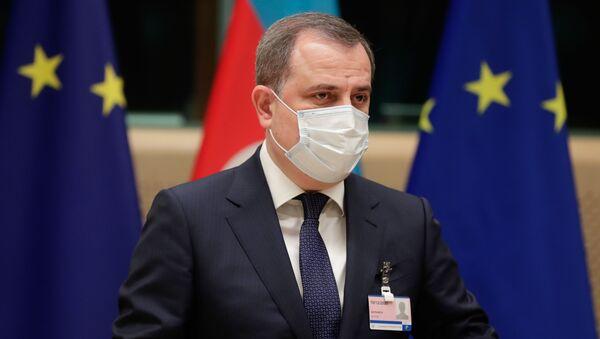Министр иностранных дел Азербайджана Джейхун Байрамов, фото из архива - Sputnik Азербайджан
