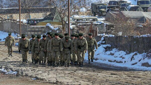 Азербайджанские военные, фото из архива - Sputnik Азербайджан