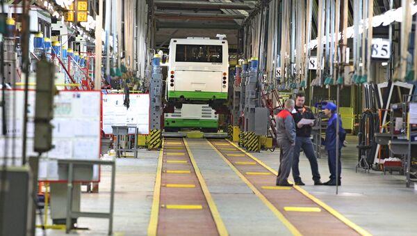 Производство автобусов ГАЗ - Sputnik Азербайджан