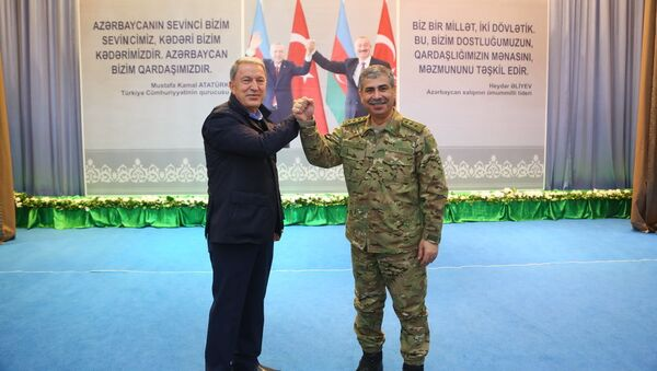 """""""Azərbaycan-Türkiyə qardaşlığı əbədidir, sarsılmazdır!"""" adlı tədbir - Sputnik Азербайджан"""