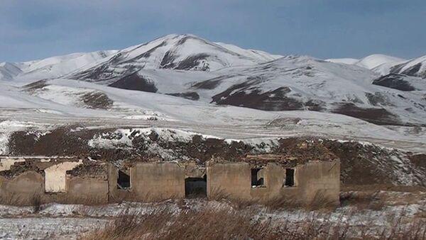 Село Зивел Кельбаджарского района - Sputnik Azərbaycan