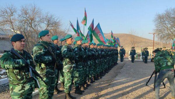 Горадизский пограничный отряд Государственной пограничной службы - Sputnik Азербайджан