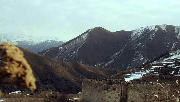Kəlbəcər rayonunun Allıkənd kəndi - Sputnik Азербайджан
