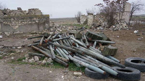 Неразорвавшийся снаряд - Sputnik Азербайджан