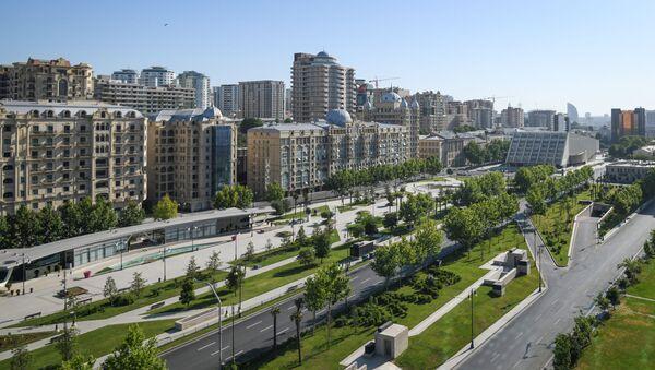 Солнечная погода в Баку, фото из архива - Sputnik Азербайджан