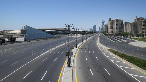 Безоблачная погода в Баку, фото из архива - Sputnik Азербайджан