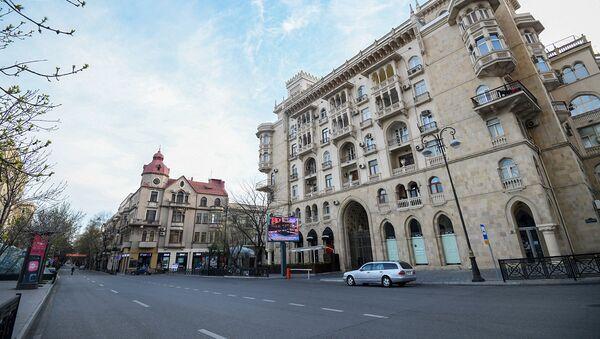 Пасмурная погода в Баку, фото из архива - Sputnik Азербайджан