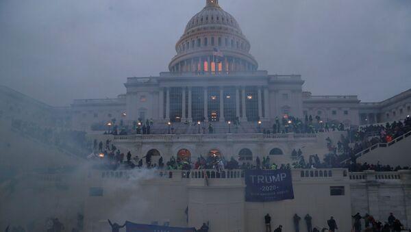 Протесты в США - Sputnik Azərbaycan