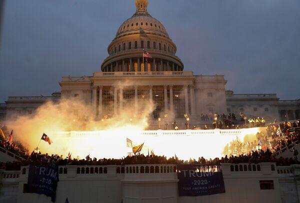 Взрыв у здания конгресса в Вашингтоне - Sputnik Азербайджан