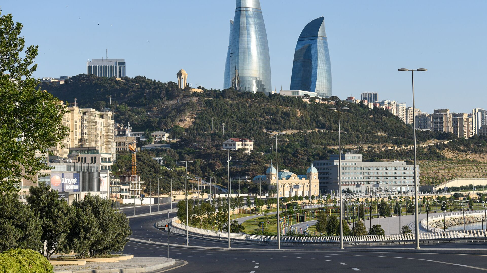 Вид на Баку, фото из архива - Sputnik Азербайджан, 1920, 15.04.2021