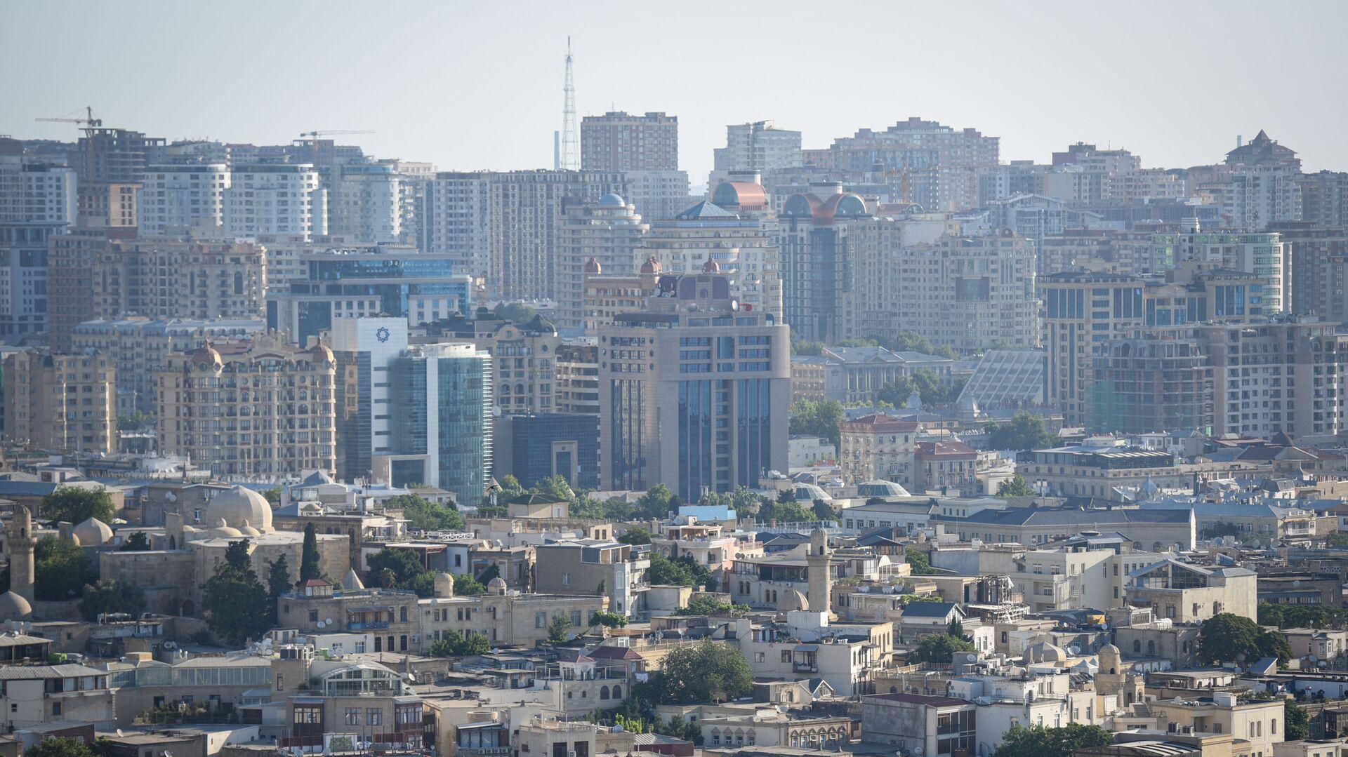 Вид на Баку, фото из архива - Sputnik Азербайджан, 1920, 10.08.2021