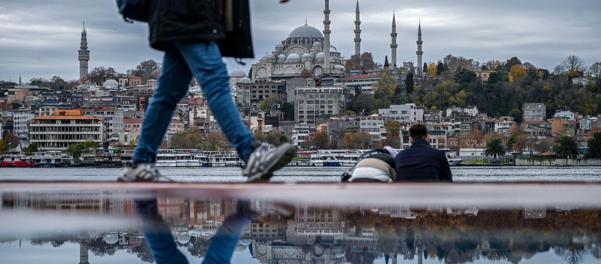 Вид на Стамбул, фото из архива - Sputnik Азербайджан, 1920, 18.02.2021