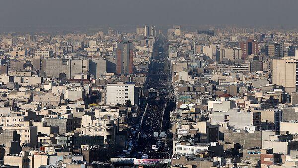 Вид на Тегеран, фото из архива - Sputnik Азербайджан