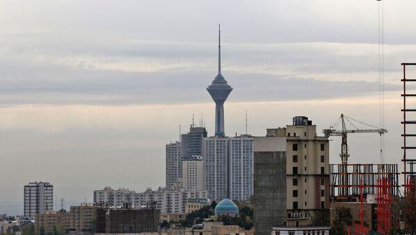 Вид на Тегеран, фото из архива - Sputnik Azərbaycan
