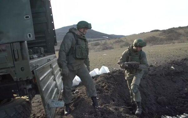 Работы по разминированию в Карабахе - Sputnik Азербайджан