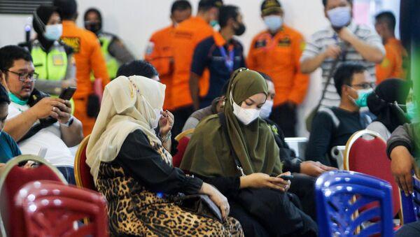 Крушение самолета в Индонезии - Sputnik Азербайджан