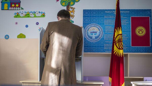 Досрочные выборы президента Киргизии - Sputnik Azərbaycan