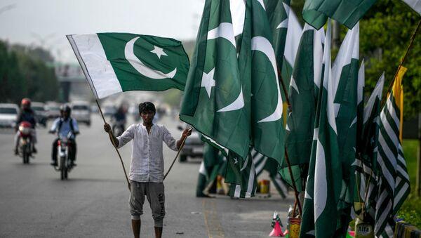 Флаг Пакистана, фото из архива - Sputnik Азербайджан