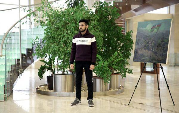Работа участника проекта Bu günün rəssamı (Художник сегодня) - Sputnik Азербайджан