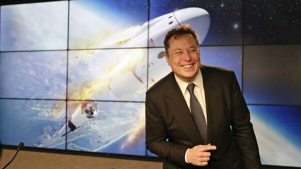 Илон Маск, фото из архива - Sputnik Азербайджан