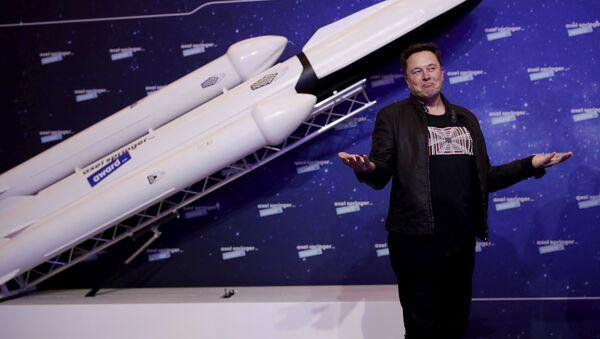 Илон Маск, фото из архива - Sputnik Azərbaycan
