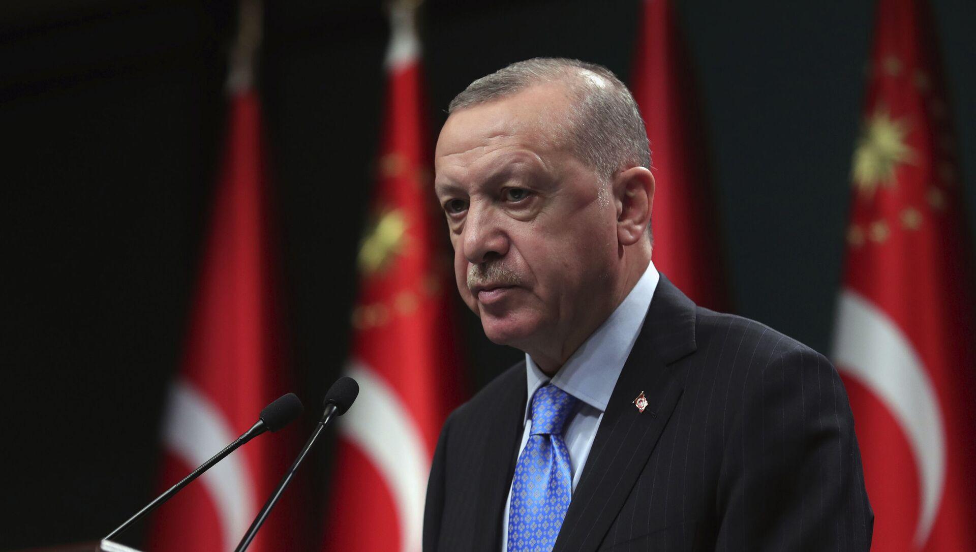 Президент Турции Реджеп Тайип Эрдоган, фото из архива - Sputnik Азербайджан, 1920, 20.02.2021