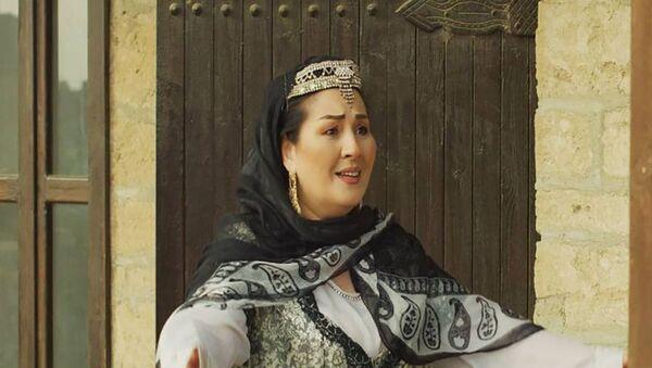 Вдова героя Первой Карабахской войны, заслуженная артистка Айбениз Гашимова - Sputnik Азербайджан