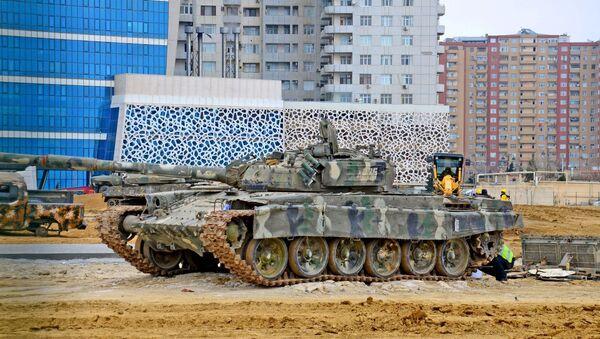 Мемориальный комплекс Отечественной войны и Музей Победы в Баку - Sputnik Азербайджан