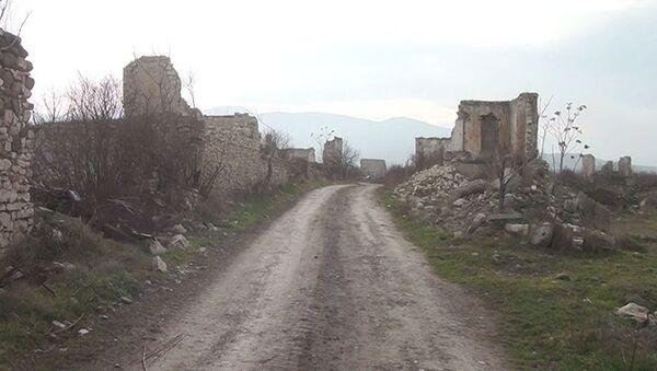Село Гасымлы Агдамского района - Sputnik Азербайджан