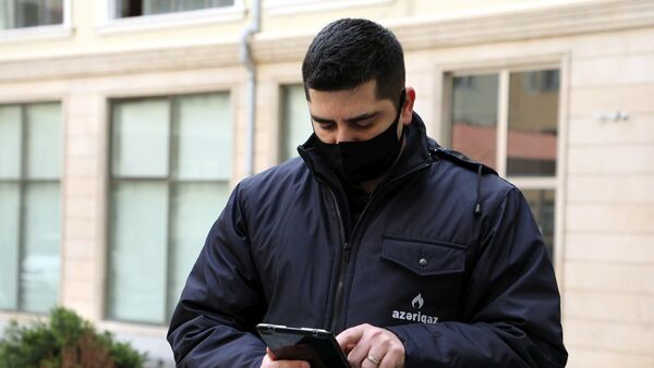 Сотрудник Азеригаз - Sputnik Азербайджан