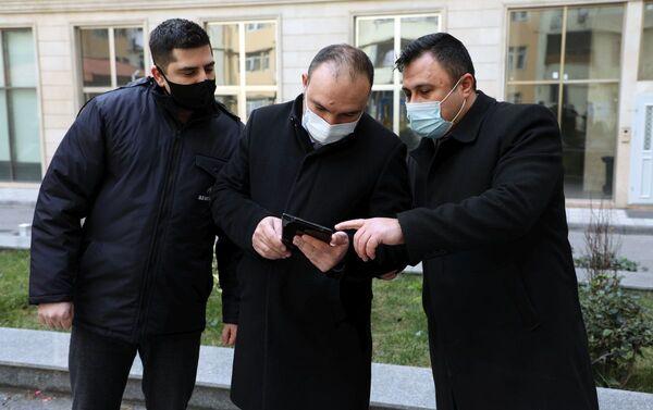 Сотрудники ПО Азеригаз - Sputnik Азербайджан