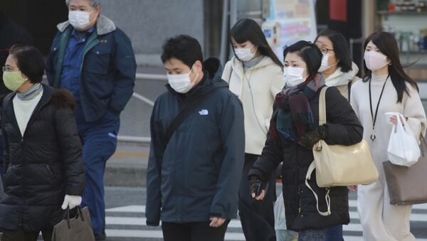 Ситуация в Японии в связи с коронавирусом - Sputnik Азербайджан