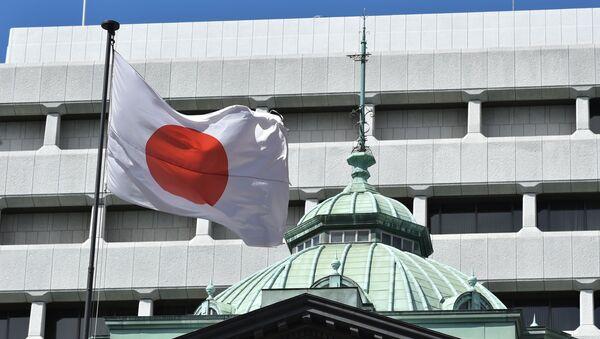 Флаг Японии, фото из архива - Sputnik Азербайджан