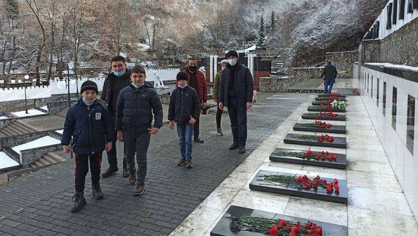 Şəkidə 20 yanvar faciəsinin 31-ci il dönümü - Sputnik Azərbaycan