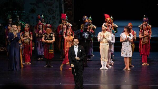 Балет Тысяча и одна ночь на сцене Мариинского театра - Sputnik Азербайджан