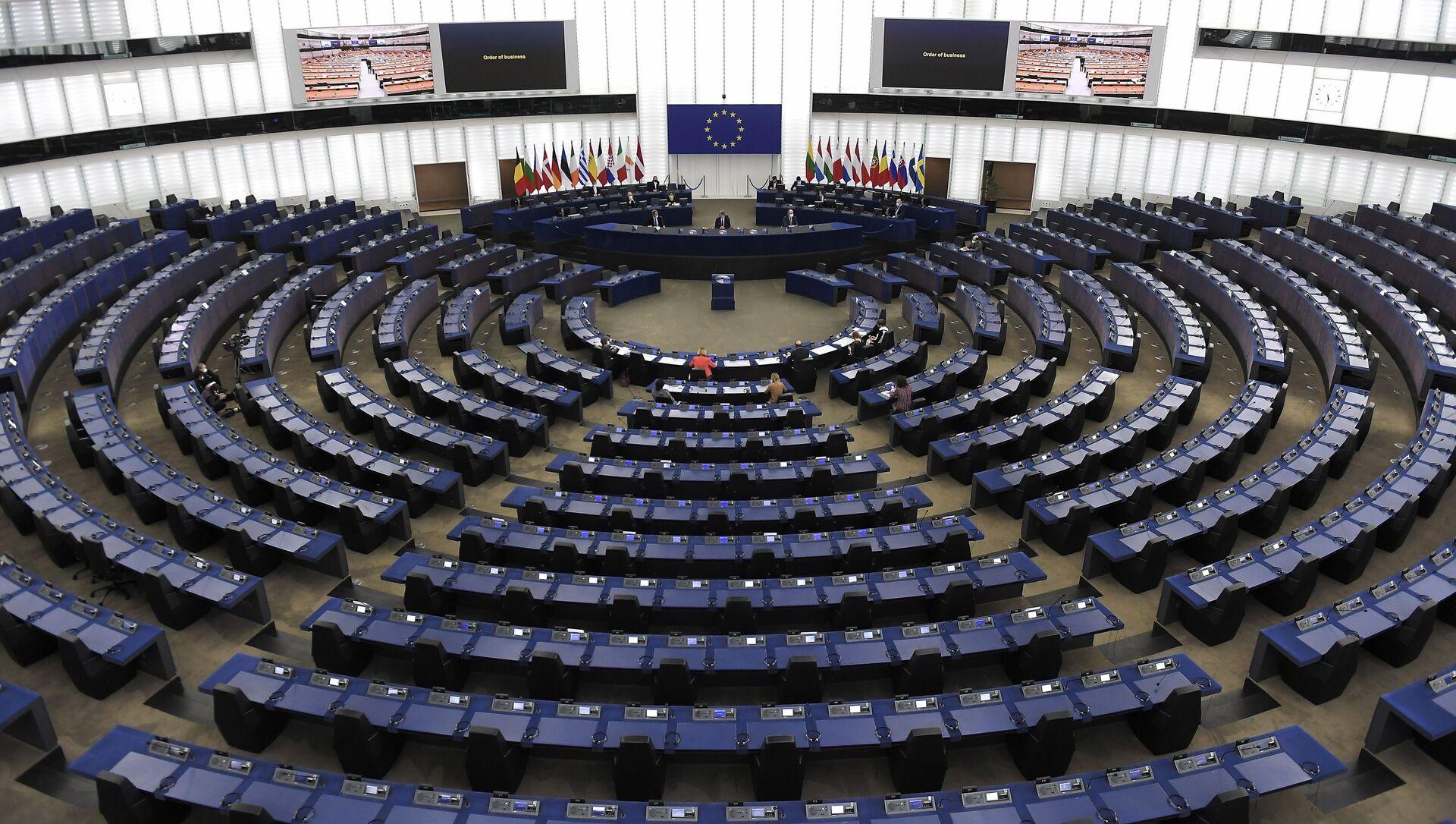 Заседание зимней сессии Парламентской ассамблеи Совета Европы (ПАСЕ) в Страсбурге, фото из архива - Sputnik Азербайджан, 1920, 27.04.2021