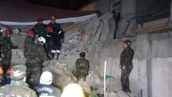 Взрыв в Хырдалане - Sputnik Азербайджан