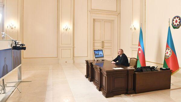 Prezident İlham Əliyev Rəşad Nəbiyevi qəbul edib - Sputnik Азербайджан