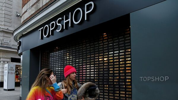 Asos планирует купить обанкротившийся бренд Topshop - Sputnik Азербайджан