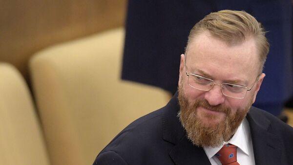 Виталий Милонов, фото из архива - Sputnik Азербайджан
