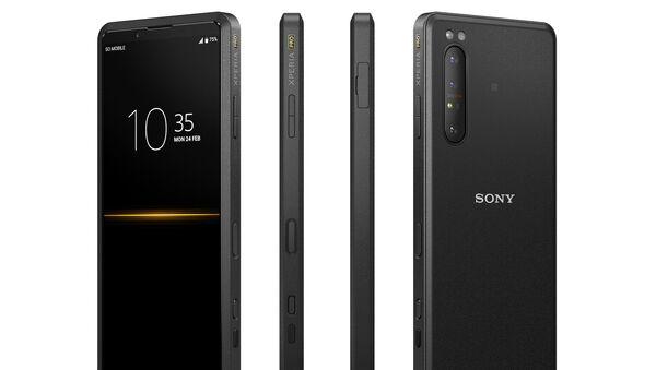 Sony представила смартфон для профессиональных видеографов - Sputnik Азербайджан