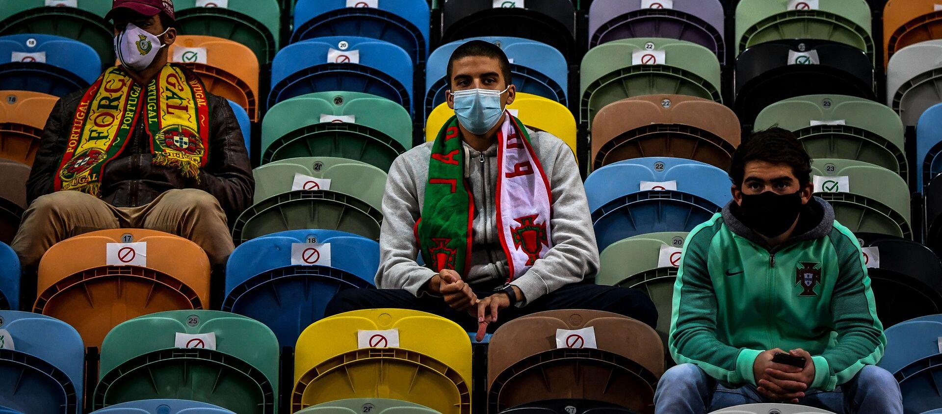 Фанаты футбольного клуба, фото из архива - Sputnik Азербайджан, 1920, 29.01.2021