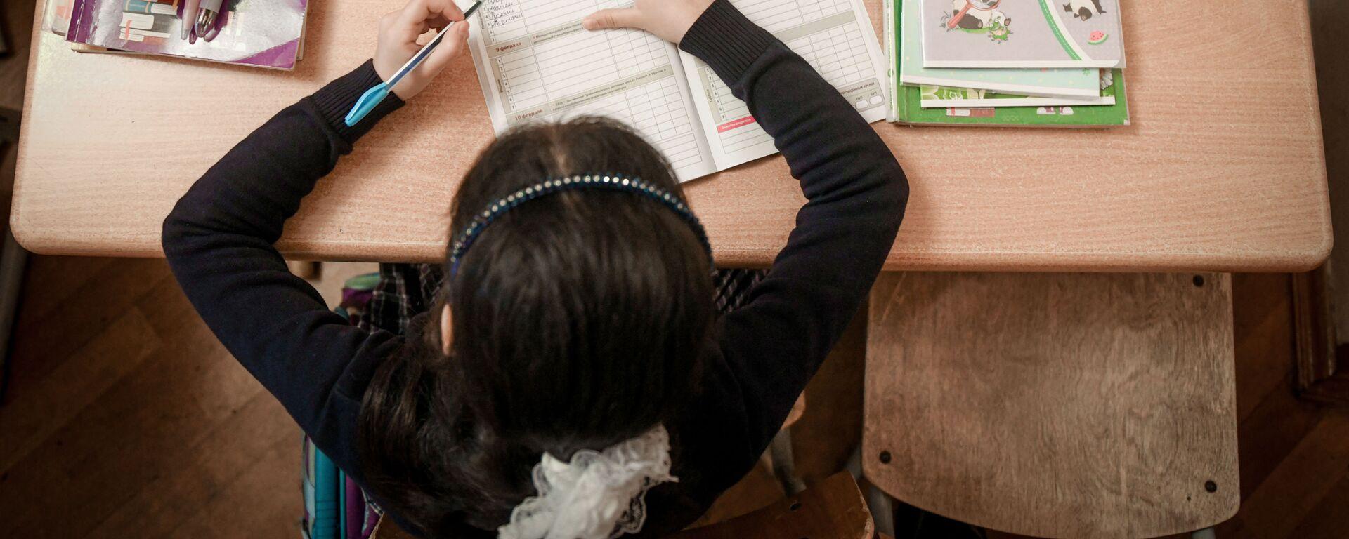 Возобновление очных занятий в бакинских школах, 1 февраля 2021 года - Sputnik Азербайджан, 1920, 10.03.2021