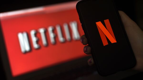 Логотип Netflix, фото из архива - Sputnik Azərbaycan
