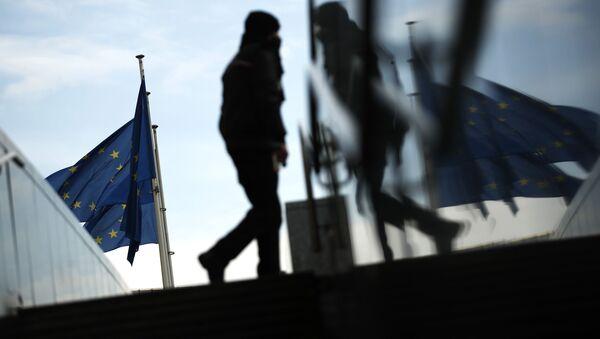 Флаг Европейского Союза (ЕС), фото - Sputnik Азербайджан