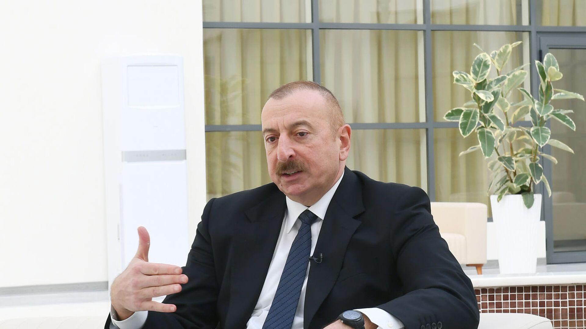 Президент Ильхам Алиев, фото из архива - Sputnik Азербайджан, 1920, 26.02.2021