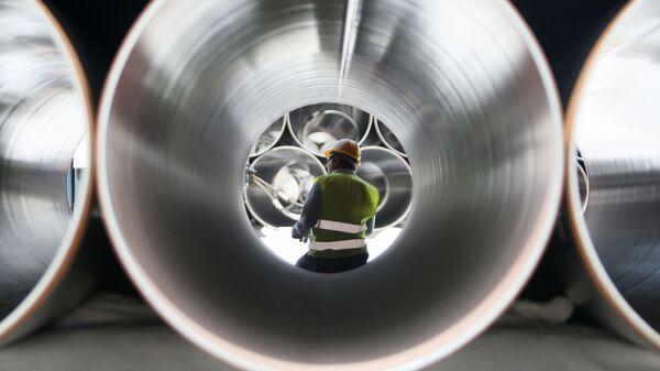 Строительство трубопровода TAP , фото из архива - Sputnik Азербайджан