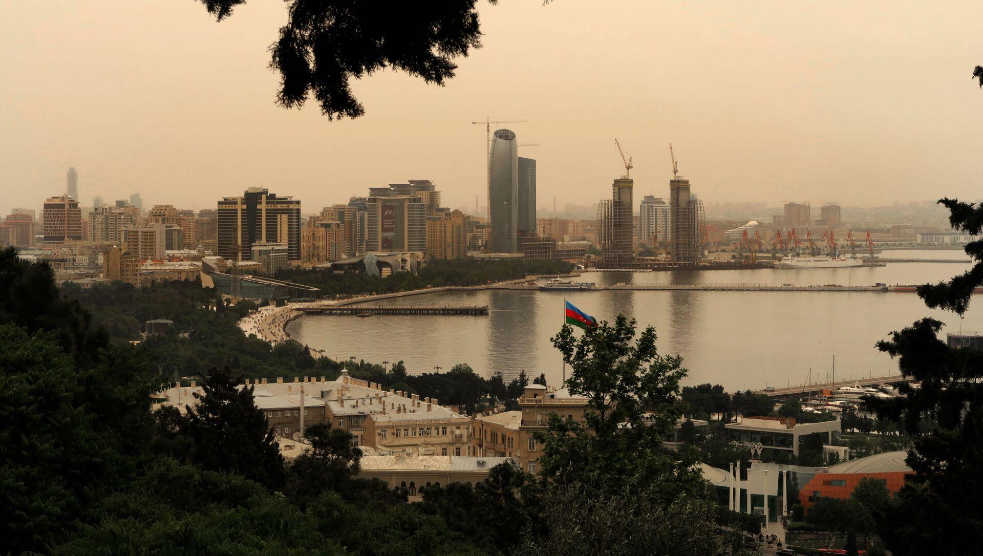 Вид на город Баку, фото из архива - Sputnik Азербайджан, 1920, 09.03.2021