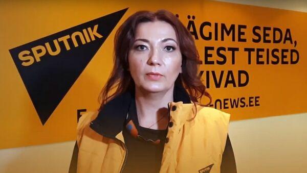 Бывший главный редактор Sputnik Estonia Елена Черышева - Sputnik Азербайджан